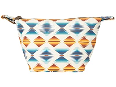 Pendleton Canopy Canvas Square Cosmetic Case (Falcon Cover Sunset) Cosmetic Case