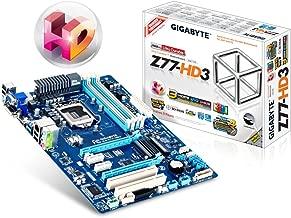 Gigabyte GA-Z77-HD3 -LGA1155 Intel Z77 Chipset DDR3 SATA PCI Express DVI-D/HDMI/D-SUB ATX Motherboard