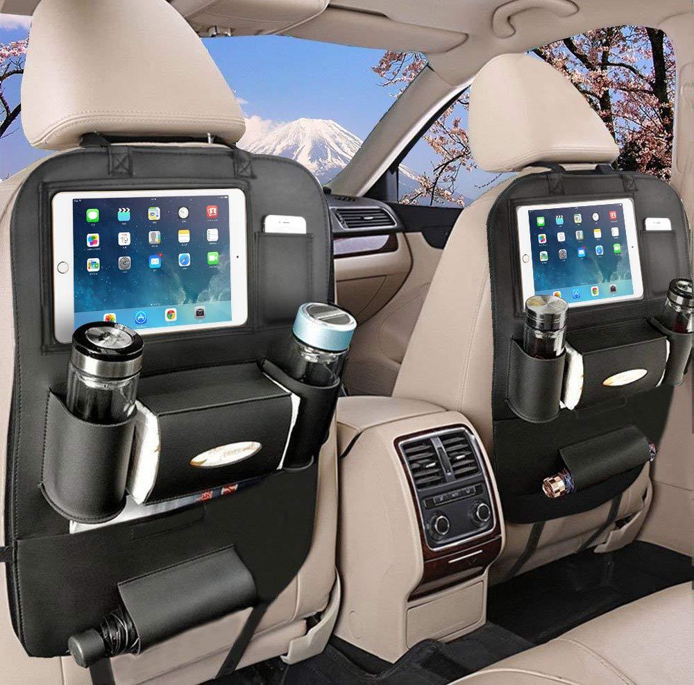 Rückenlehnenschutz Auto Autositzschoner Rückenlehne Kinder Auto Organizer Rücksitz Kinder Mit10 Ipad Tablet Halter 1 Pack Baby