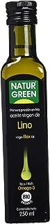 Natur Green, Aceite Virgen de Lino, 250 ml
