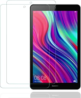 2枚 HUAWEI 8.0インチ MediaPad M5 Lite Touch ガラスフィルム/Huawei Honor Tab 5 8.0 ガラスフィルム 新型 8.0インチ タブレット用フィルムWi-Fiモデル/LTEモデル適用ガラスフィル...