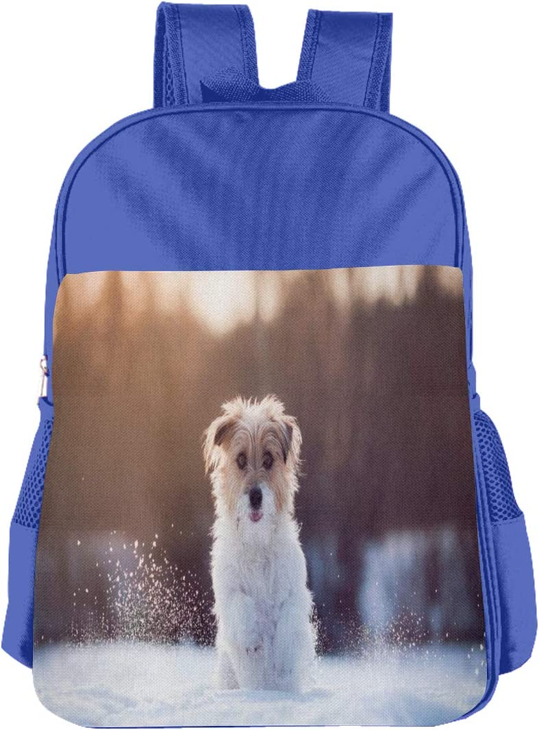 Funny Puppy Boys and Girls 6-13 Years Old Cute and Interesting School Bags