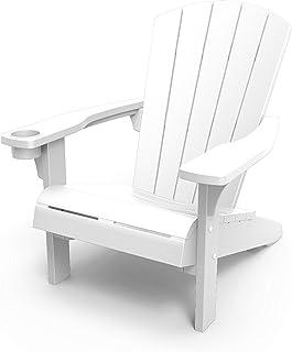 Keter Alpine Adirondack Garden Chair - White