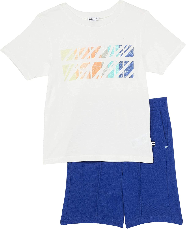 Splendid boys Kids' Short Sleeve Short Set: Clothing