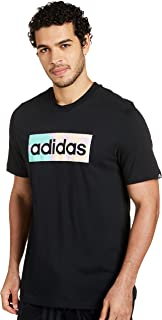 adidas Men's M HZY DRMS BX T GRAPHIC TEE (SHORT SLEEVE)