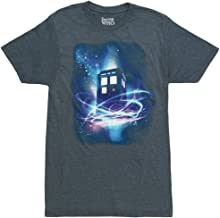 Doctor Who Tardis in Space Adult T-Shirt