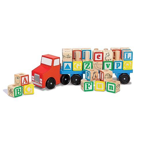 Melissa /& Doug VEHICLE SOUND BLOCKS Pre-School Wooden Toys Games BN