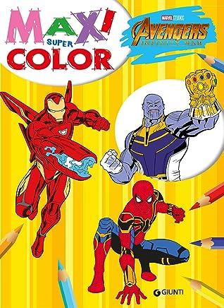 Amazonit Marvel Da Colorare Libri
