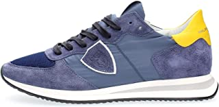 Philippe Model Paris Sneakers TRPX Lu MONDIAL Blue Jaune