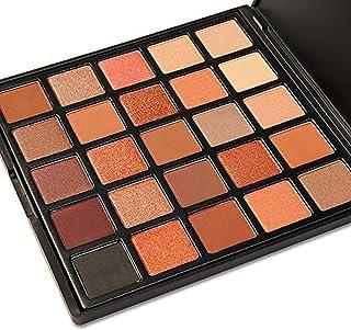 DONGXIUB 25 Colors Long Smoky Matte Eyeshadow Makeup Palette Colors Shimmer Warm Neutral Eyeshadows
