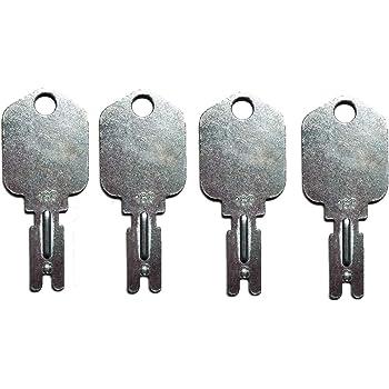 Fit For Mustang 166 2pcs Skidsteer Keys Forklift Gradall Hyster IR Yale Gehl