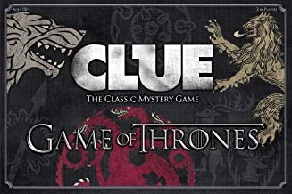 USAOPOLY Clue Game of Thrones Board Game | Official Merchandise | Based on The Popular TV Show on HBO Game of Thrones