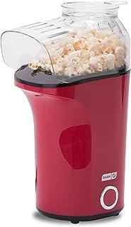 DASH Popcorn Machine: Hot Air Popcorn Popper + Popcorn Maker with Measuring Cup to Measure Popcorn Kernels + Melt Butter -...