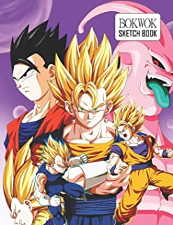 Sketch Book: Dragon Ball Z Sketchbook 129 pages, Sketching, Drawing and Creative Doodling Notebook to Draw and Journal 8.5 x 11 in large (21.59 x 27.94 cm)