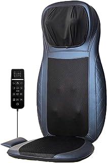 Lzour Masajeador de Espalda de Shiatsu con Calor, Amasado de Tejido Profundo, vibración para la Espalda Completa y Alivio del Dolor Muscular, para Uso doméstico y de la Silla de Oficina
