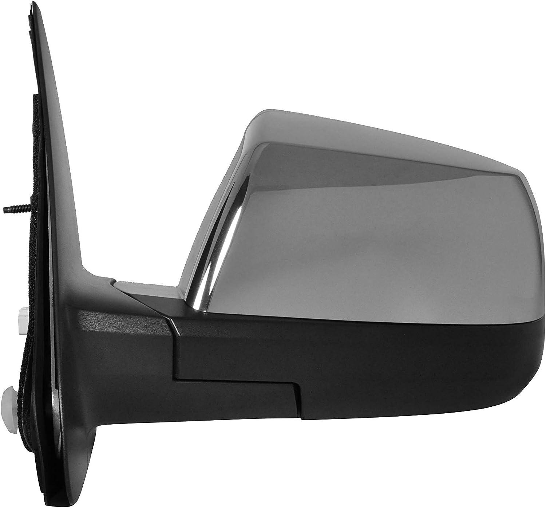 Driver Side Chrome Power Nippon regular agency Luxury goods Folding Mirror Heated w Light Signal