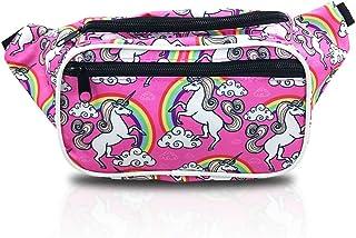 b1605d782355 Amazon.com: unicorn fanny pack for kids girl