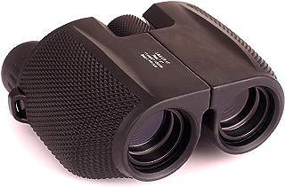 Efaithtek 10x25 Compact Folding Binoculars with Weak Light Night Vision for Hiking,Outdoor Sports Games,Bird Watching,Stargazing,Golf,Shooting