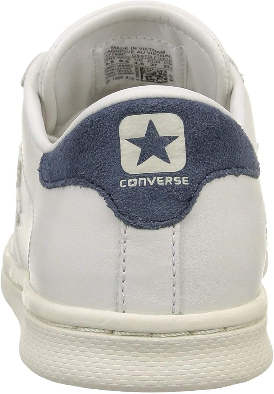 Converse PRO Leather Scarpe Sportive Bianche Pelle 147789C ...