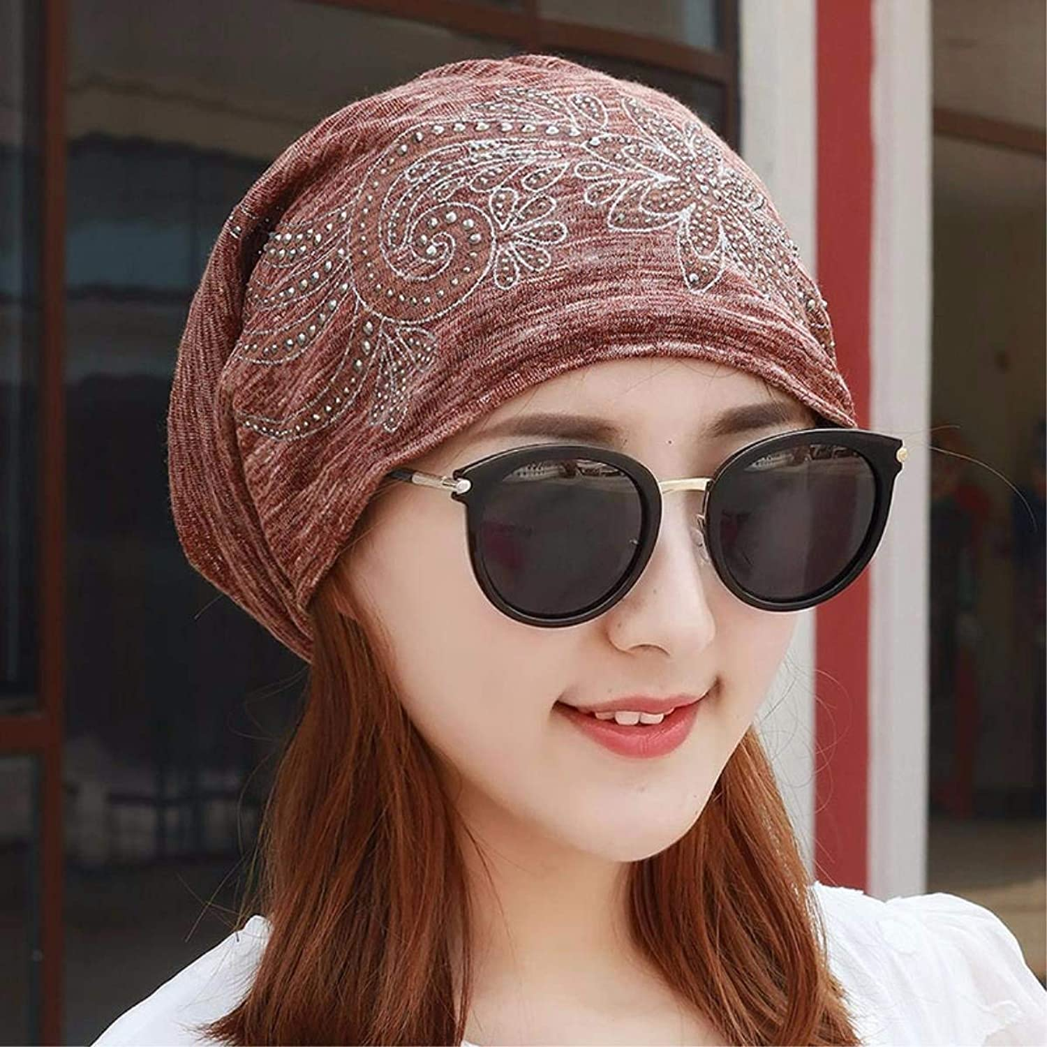 Dianye Hat the girl thin scarf, cap spring and summer pregnant storehouse cap cap cap cap airconditioned bedrooms