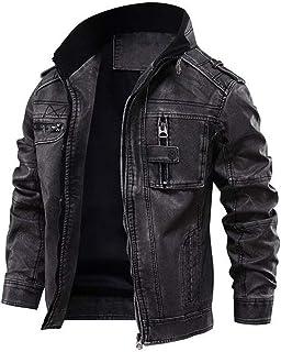 Black Leather Jackets For Men | [1108766] Tavares, XXL