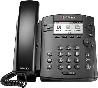 Polycom VVX 300 IP Business PoE Telephone (Power Supply Included) (Renewed)