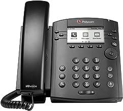 Polycom VVX 300 IP Business PoE Telephone (Power Supply Included) (Renewed) photo