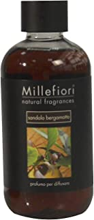 Millefiori NATURAL FRAGRANCES フレグランスディフューザー専用リフィル 250ml サンダルベルガモット DIF-25-017