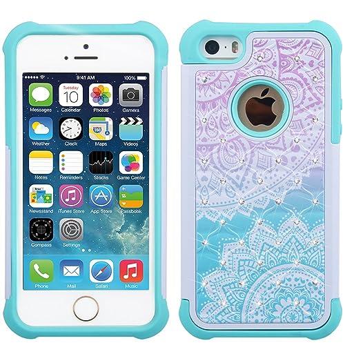 pretty nice 6067c 25a89 Girly Phone Cases SE: Amazon.com