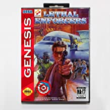 TopFor Lethal Enforcers Game Cartridge 16 Bit Md Game Card With Retail Box For Sega Mega Drive For Genesis