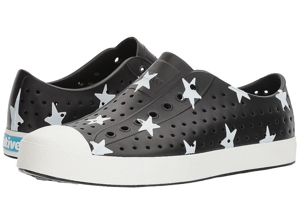 Native Shoes Jefferson (Jiffy Black/Bone White/Big Star) Shoes