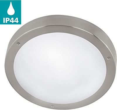 Nordlux lámpara plafón Spinner 60 W E27 25416032, acero