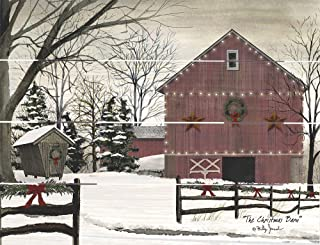 Rustic Pallet Art The Christmas Barn- Amish Made in The USA