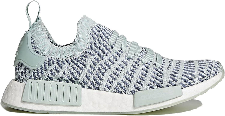 Adidas Originals NMD R1 STLT PK Running shoes Grey White (9.5 B(M) US)