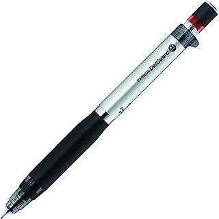 Zebra Mechanical Pencil, Del Guard Type ER, 0.5mm, Silver (P-MA88-S)