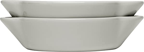 Sagaform Piccadilly Portioned Sized Dishes, 2 Pack, Sand