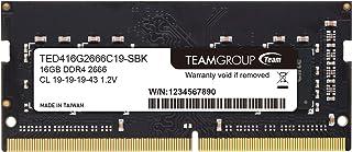 Team ノートPC用 SO-DIMM DDR4 2666MHz PC4-21300 16GB 無期限保証