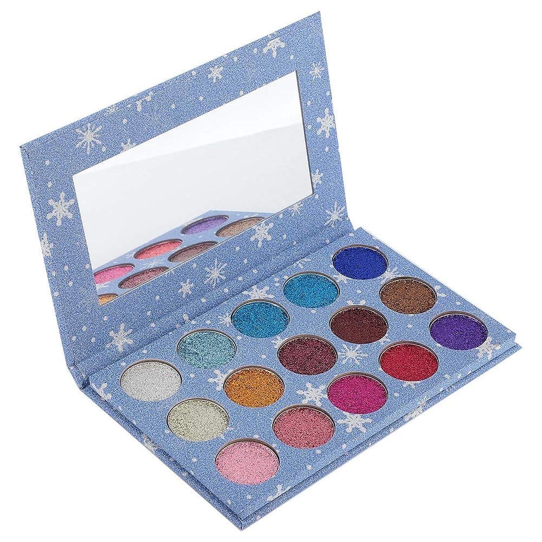 出来事のスコアゲインセイアイシャドウパレット 15色 アイシャドウパレット 化粧マット グロス アイシャドウパウダー 化粧品ツール (01)