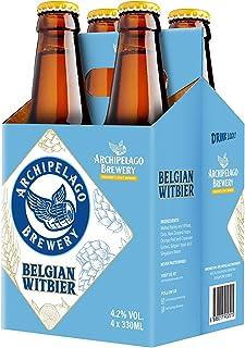 Archipelago Brewery Belgian Witbier Craft Beer Bottle, 4 x 330ml
