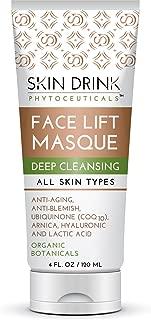 Body Dynamics 4 FL OZ Skin Drink Deep Cleansing Face Lift Masque