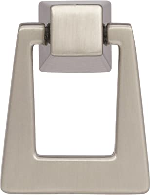 Amerock Blackrock 1-13/16 in (46 mm) Length Satin Nickel Cabinet Pendant - 5 Pack