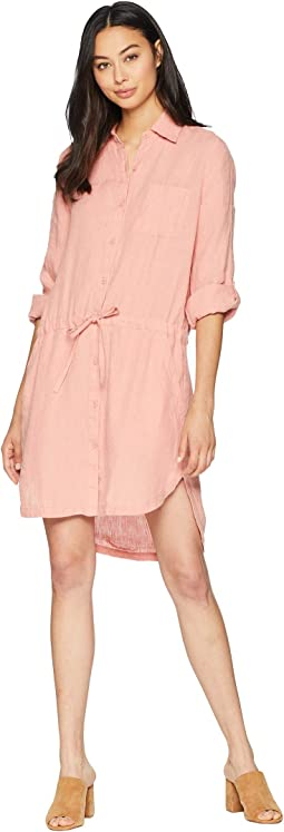 Washed Linen Shirtdress
