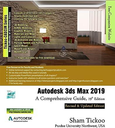 Amazon com: Autodesk 3ds Max 2019: A Comprehensive Guide