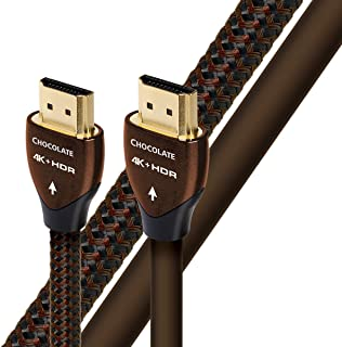 AudioQuest Chocolate High Speed HDMI Cable with Ethernet (6.7 feet/2 meters)
