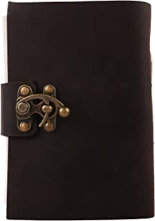 Bless-Pure-Soft-Leather-Journal-Travel-Diary Handmade-Unlined-Cream-Paper Antique-quality-Vintage-Bound-Notebook-for-Men-Women (8