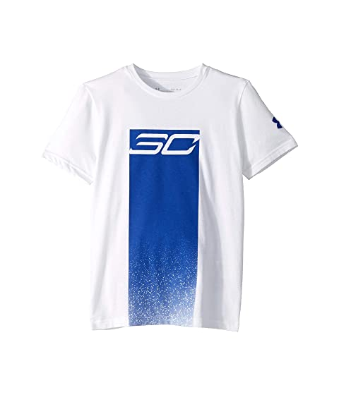 UNDER ARMOUR MEN/'S SC30 HEAVY IS THE HEAD STEPH CURRY BASKETBALL T-SHIRT WHITE