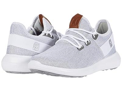 FootJoy Flex Coastal Spikeless (White/White/Grey) Women