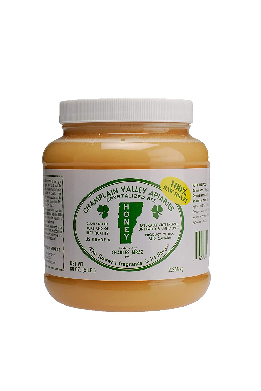 Albuquerque Mall 100% Raw Honey By Gifts Apiaries Valley 5lb Champlain