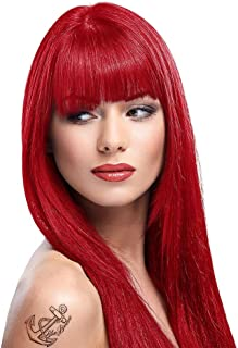 6 x La Riche Directions Semi-Permanent Hair Color 88ml Tubs - POPPY RED