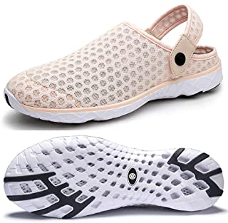Mens Womens Breathable Mesh Beach Sandals Shoes Anti Slip Garden Clogs Summer Slippers Outdoor Sports Casual Shoes Flip Fl...